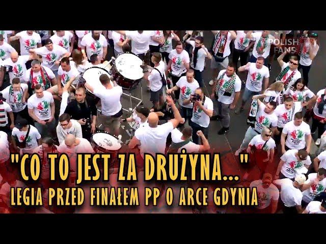 """""""CO TO JEST ZA DRUŻYNA..."""" - Legia przed finałem PP o Arce Gdynia (02.05.2018 r.)"""