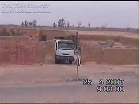 رئيس جماعة سيدالزوين وفضيحة استغلال شاحنة الجماعةsidi zouine