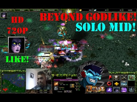 ★DoTa Lanaya, Templar Assassin - GamePlay | Guide★ Beyond Godlike!★