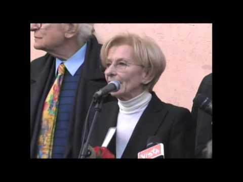 Al comizio, con Emma Bonino