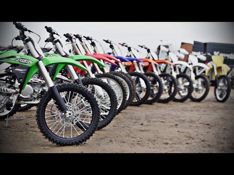 2016 Dirt Bike Mega Test- Battle of the Bikes