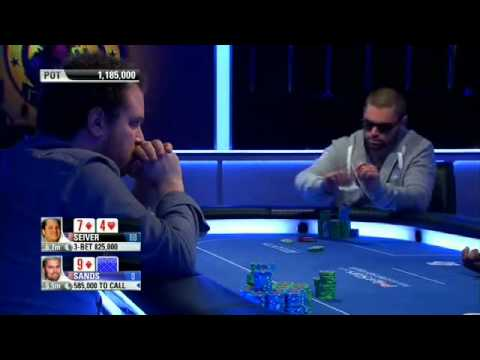 PСА-2013. Super High Roller. Е11, Final Table (RUS)