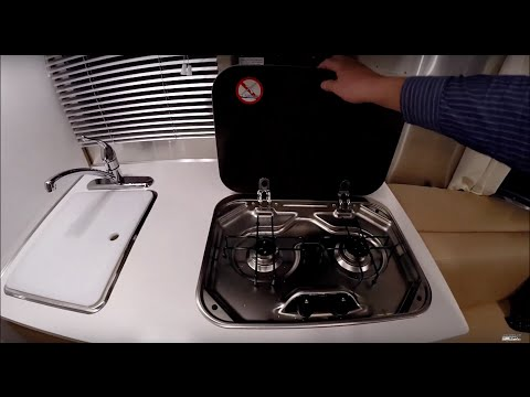 Walk Through 2015 Airstream Sport 16J Bambi Small Travel Trailer