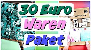30 Euro Warenpaket | 9999 Dinge Bastel Haul Video deutsch | Bastelbedarf