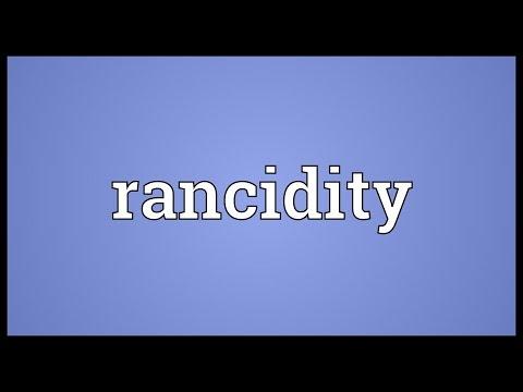 Header of rancidity