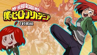 How to draw in the 'My Hero Academia' art style (Tutorial)