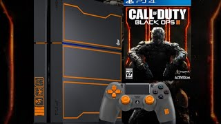 Unboxing PS4 Black Ops 3 Limeted Edition ( Español )