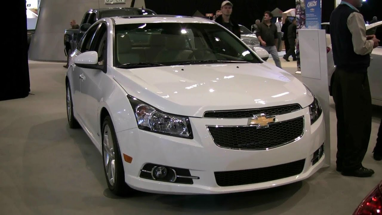 2012 chevrolet cruze ltz exterior and interior at 2012 montreal auto show youtube