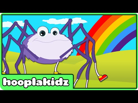 Incy Wincy Spider | Itsy Bitsy Spider | Nursery rhyme videos