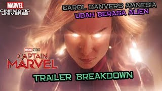 Carol Danvers Amnesia ?? Captain Marvel Trailer Breakdown | Marvel Indonesia