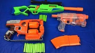Toy Guns Box of Toys Nerf Zombie Strike Flipfury Toy Weapons