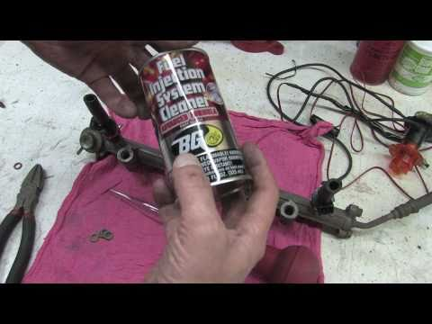 DIY Fuel Injector Cleaning & Repair