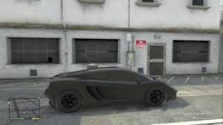 GTAV - Blacked out Vacca