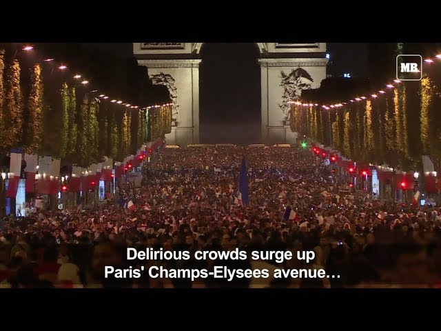 Fans delighted over France's World Cup semifinal win