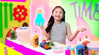 Bug's BIG SLIME FACTORY | Bubbly Stretchy Soft Slime