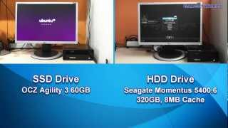 ASRock ION 330HT - SSD vs HDD Performance