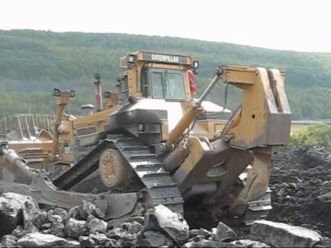Caterpillar D11R Working with Fiat-Allis FD-50