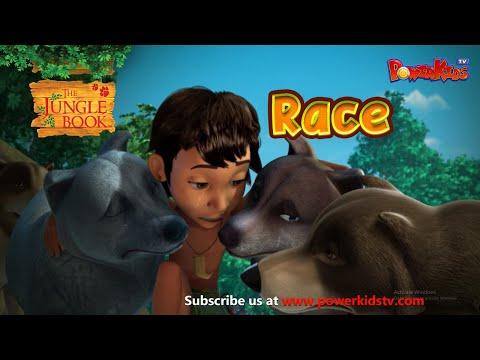 The Jungle Book Cartoon Show Full Hd - Season 1 Episode 4 - The Race video