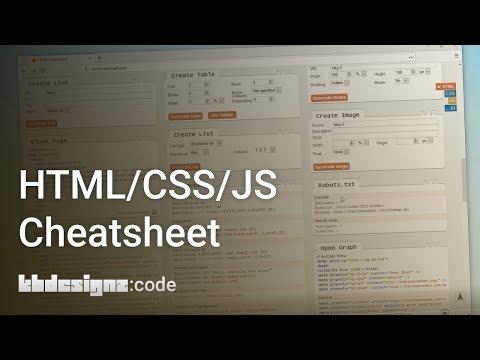 Download  html,css and js cheat sheet Gratis, download lagu terbaru