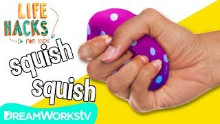 DIY Stress Ball + More Relaxation Hacks | LIFE HACKS FOR KIDS