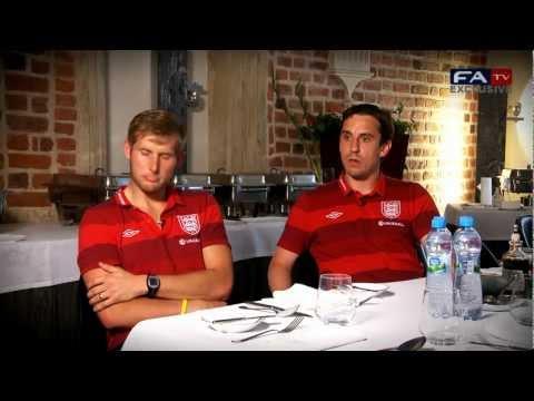 Gary Neville & Dave Watson Exclusive Interview - Euro 2012 | FATV