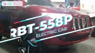 Xe ô tô điện trẻ em RBT-558P ghế da, sơn tĩnh điện Baby Plaza