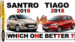 Santro 2018 vs Tiago Which Is Better | Santro 2018 vs Tata Tiago