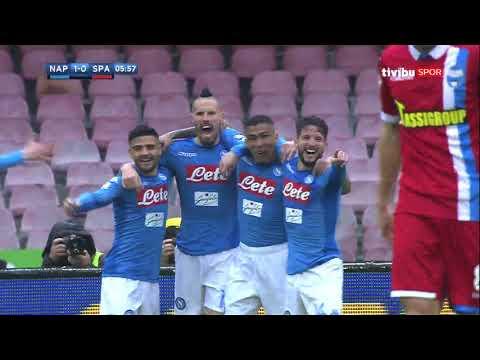 Serie A 25. Hafta I Napoli 1 - 0 Spal Maç Özeti