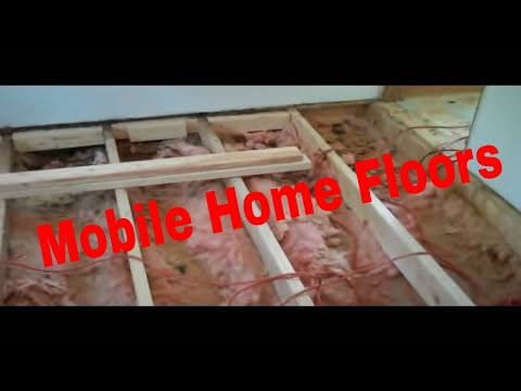 Mobile Home Holes The Floor Youtube