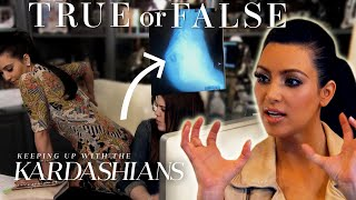 Is Kim Kardashian's Butt Really Fake? | So True / So False | KUWTK | E!