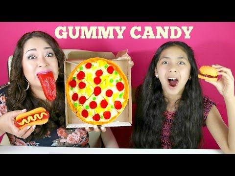YUMMY GUMMY CANDY!! Pizza Hamburger Hot Dog|B2cutecupcakes