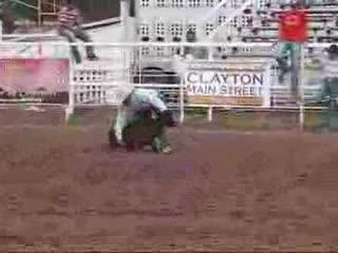 Gov Tour Finals 2007 - Clayton NM Steer Wrestling