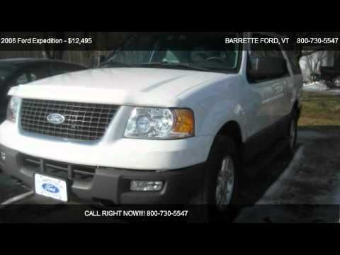 2006 Ford Expedition XLT - for sale in SWANTON, VT 05488