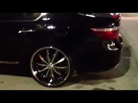 713 Motoring Lexus LS 460 on 24s