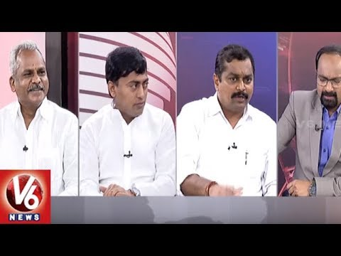 Special Debate On CM KCR Review Meet Over Mission Bhagiratha | Good Morning Telangana | V6 News