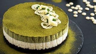Download Matcha White Chocolate Mousse Cake Recipe - 4k video 3Gp Mp4