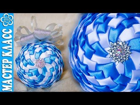 Новогодняя игрушки шары своими руками