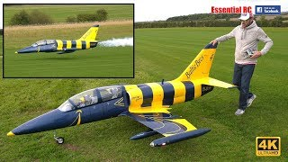 *BALTIC BEES JET TEAM* L-39 Albatros GIANT SCALE RC TURBINE JET [*UltraHD and 4K*]