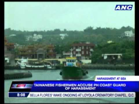 Taiwanese fishermen blast Philippine Coast Guard