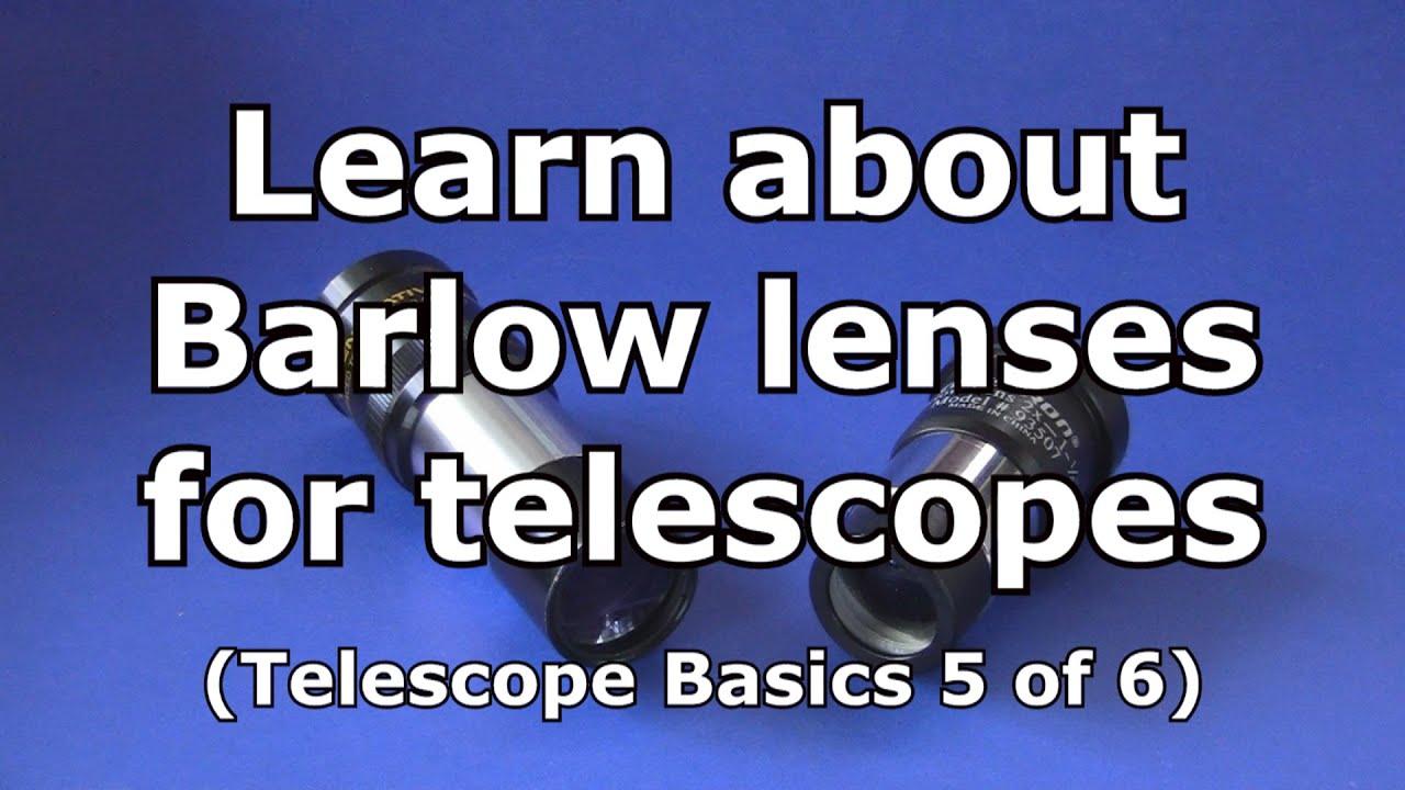 Telescope Basics 5 (of...