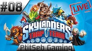 [PS3] 08 - Skylanders: trap team. Live-Fr en co-op avec La Glue