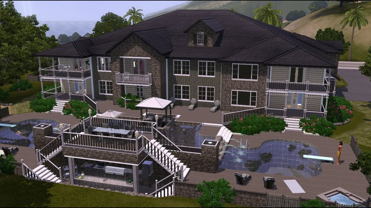 The sims 3 home building the enclave let 39 s build an for Apartment design sims 3
