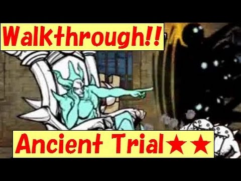 Walkthrough!! 26-3 Ancient Trial★★《2-star》Sea Polluter【The battle cats】