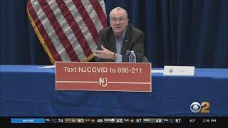 Coronavirus Update: Gov. Murphy Updates On COVID-19 In New Jersey