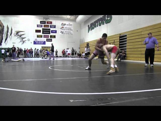 CUSAW 2012 Qualifier Junior160 Cisneros vs Good