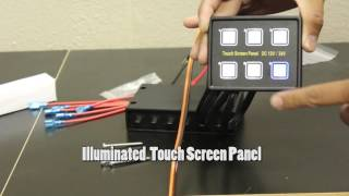 Rear Light Bar - Touch Panel Power System - www.RLBStore.com