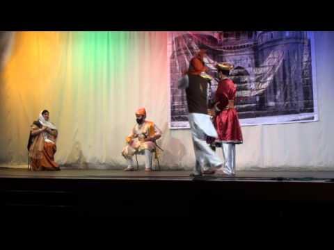 Shivaji Maharaj Powada - Mighty & Cruel Afjal Khan's Killing. video