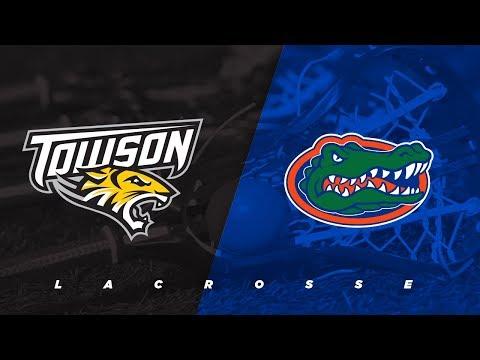 #14 Towson vs. #6 Florida | NCAA Lacrosse