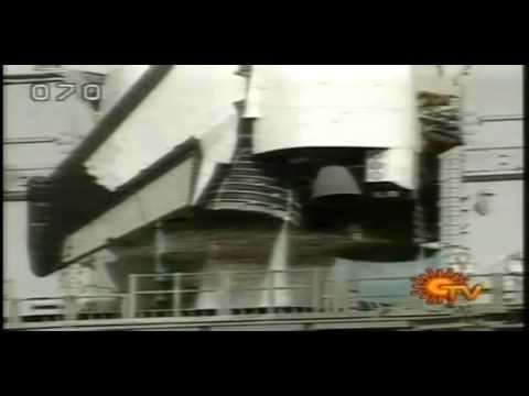 -Kalpana chawla on the columbia aircraft blast shown in suntv...