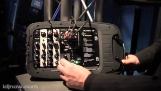 JBL PRO EON 210P POWERED PA SYSTEM NAMM 2011 WITH I DJ NOW